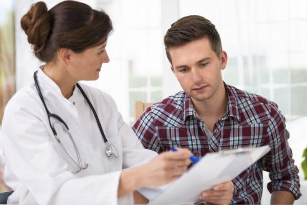 Врач ставит диагноз на основе нескольких критериев