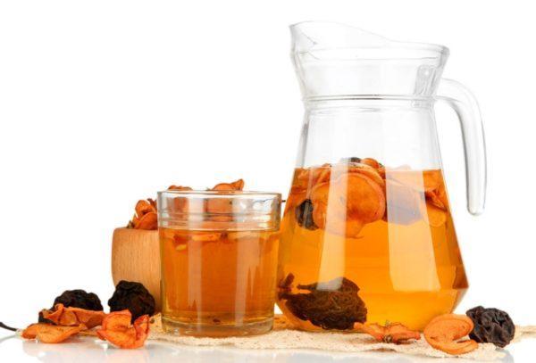 Компоты из сухофруктов помогут восполнить запас витаминов