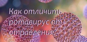 Как отличить ротавирус от отравления?