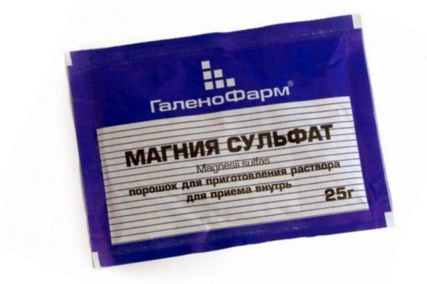 Препарат Магнезия представляет собой магниевую соль серной кислоты, он известен также под названиями «сульфат магния» и «английская соль»