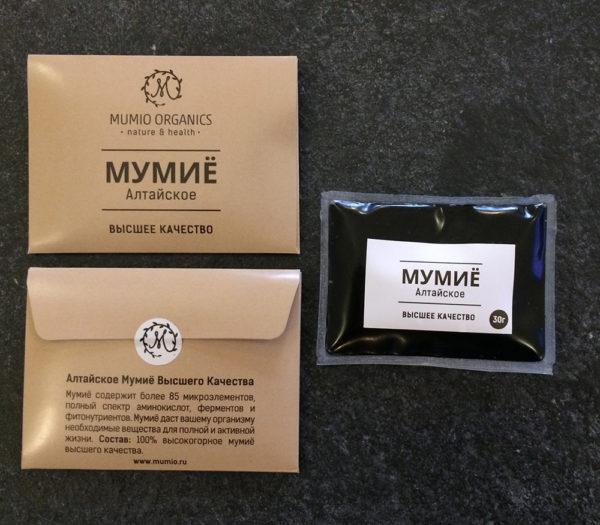 Мумие - природный органо-минеральный комплекс, который имеет в составе порядка 30 химических элементов, столько же микро- и макроэлементов, 6 аминокислот, а также практически все витамины, эфирные масла, пчелиный яд и прочие составляющие, полезные для здоровья человека