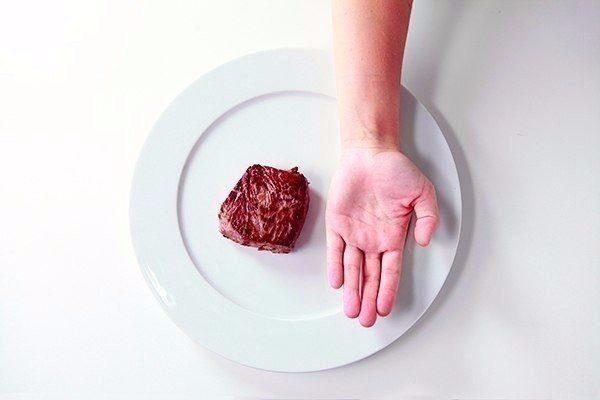 Порция еды должна быть с ладонь