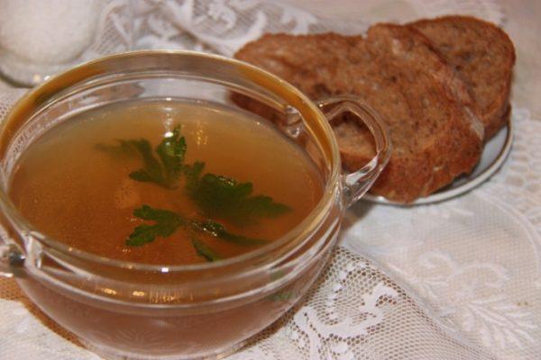 В список также входят крепкие бульоны на мясе или рыбе, грибах или овощах, маринады, соленья, соусы