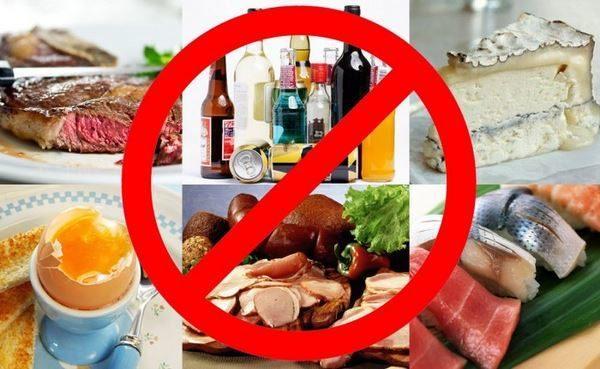 Употребление несвежих продуктов и алкоголя ведет к пищевому отравлению и диарее