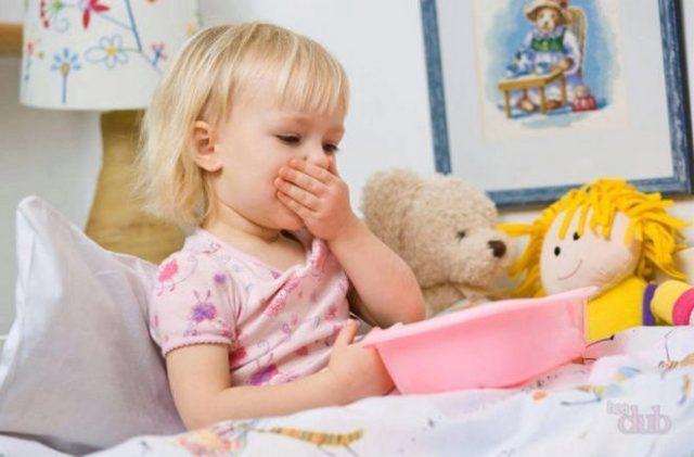 Тошнота у детей может быть вызвана различными факторами