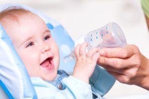Недостаточное количество жидкости в детском рационе