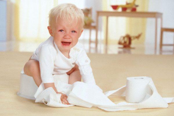 Понос у детей при прорезывании зубов
