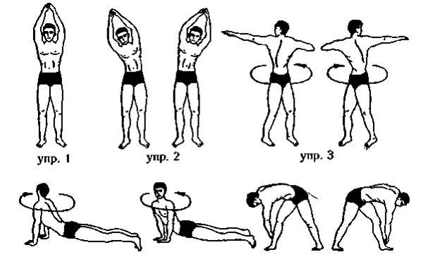 Чтобы раствор легче и быстрее прошел по пищеварительному тракту, необходимо выполнить комплекс упражнений