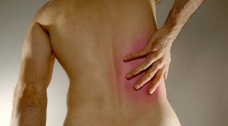Боль с правой стороны отдающая в спину