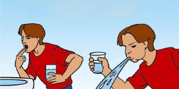 Чтобы избавиться от токсинов, необходимо выполнить промывание желудка