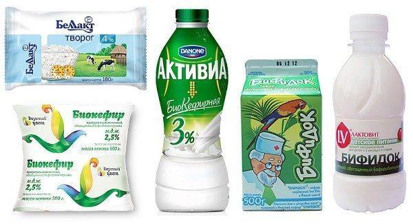 Для любителей всего натурального на рынке представлены обогащённые пре- и пробиотиками продукты питания
