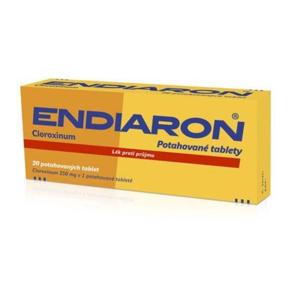 Эндиарон — лекарство для лечения кишечных инфекций, вызванных бактериями, «диареи путешественников»