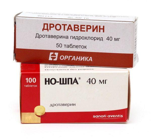 Если прием спазмолитиков не дает результата, нужно немедленно вызывать врача