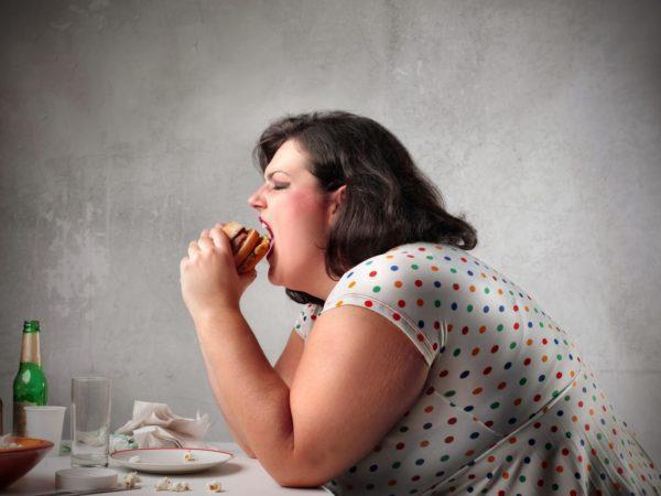 Изжога часто бывает у людей с лишним весом