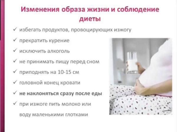 Как избавиться от изжоги во время беременности