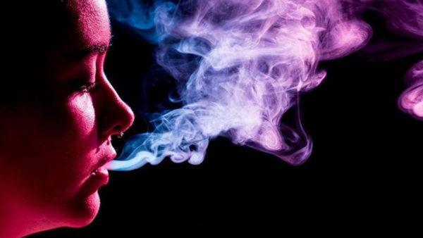 Курение - причина сухости во рту