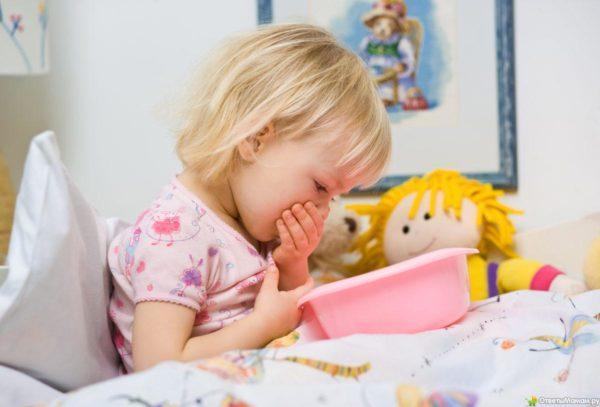 Лечение рвоты у ребенка без температуры