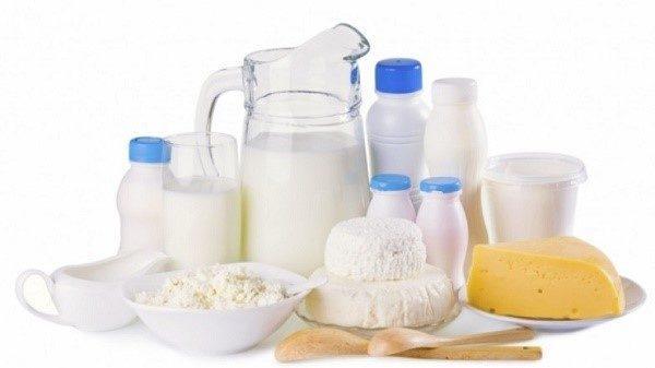 Молочные продукты также являются газообразующими