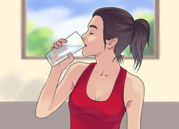 Нужно как можно больше пить