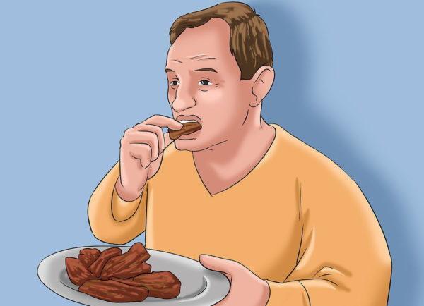 Откажитесь от острой пищи