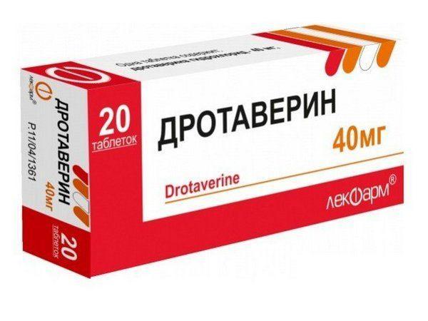 Препарат Дротаверин в форме таблеток