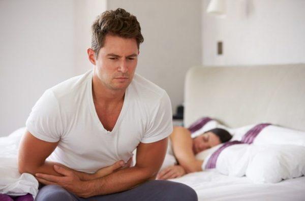 Печеночные колики чаще проявляются во время сна, когда человек находится в состоянии покоя
