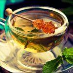 Сладкий зеленый чай