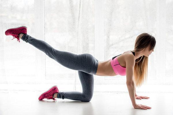 Спортом рекомендуется заниматься 3-4 раза в неделю