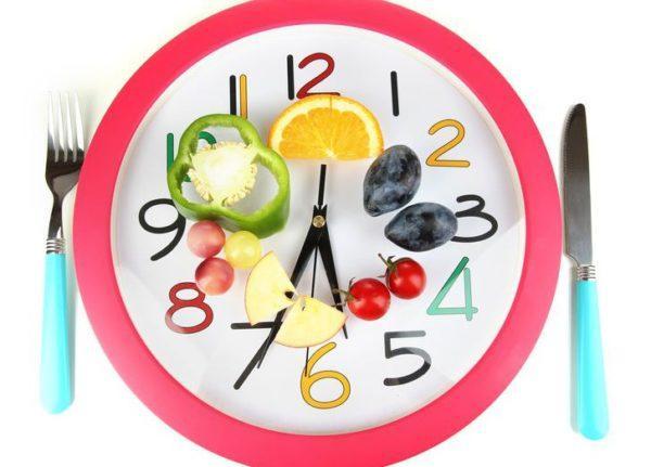 Стоит приучать себя употреблять пищу в одно и то же время