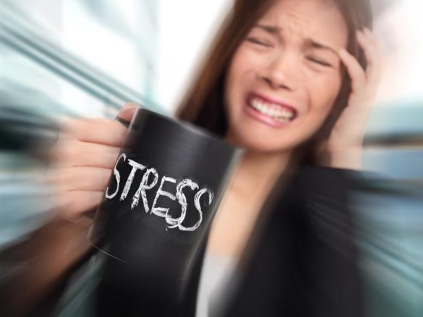 Из-за стрессов пища плохо усваивается