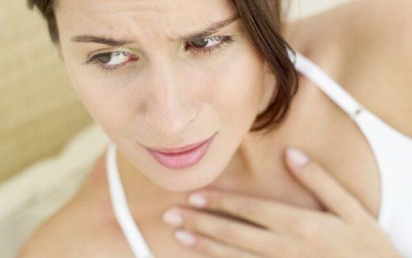Сухость в горле может свидетельствовать о ГЭРБ