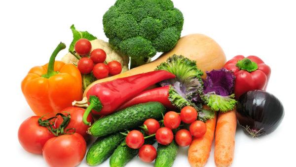 Свежие овощи должны обязательно присутствовать в ежедневном меню