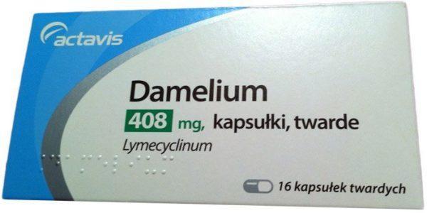 """Таблетки """"Дамелиум"""""""