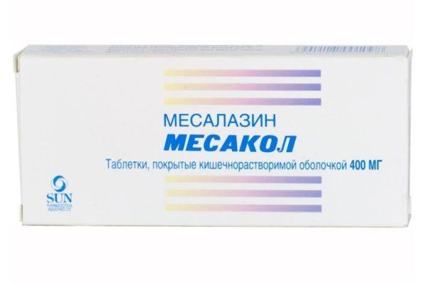 Таблетки Месалазин