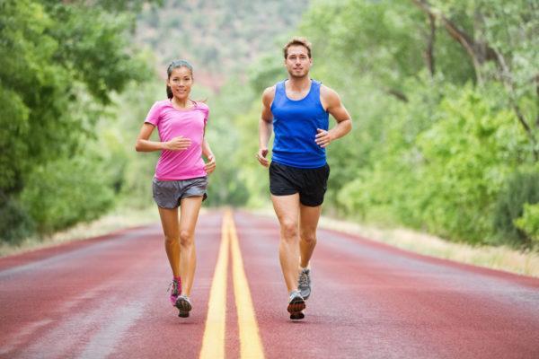 Во время бега не стоит разговаривать и сбивать дыхание