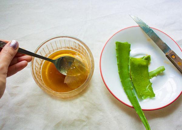 Алоэ и мед способны стимулировать перистальтику кишечника