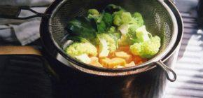 Пища на пару полезна для желудка