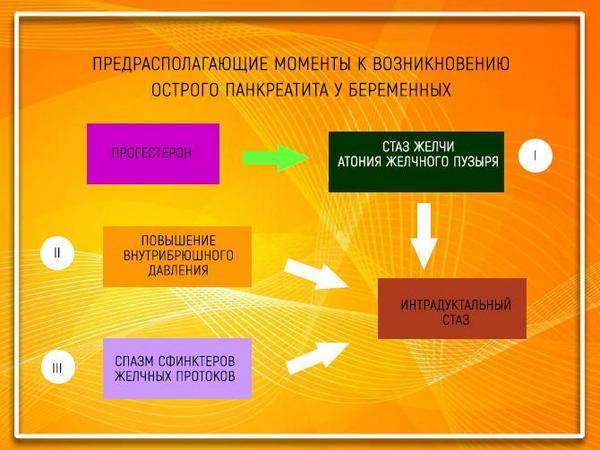 Причины возникновения у беременных острого панкреатита у беременных