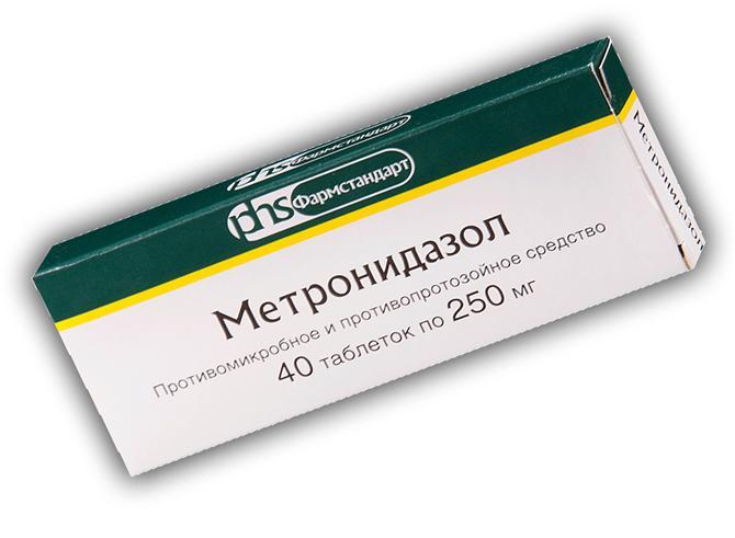 Метронидазол, 40 таблеток