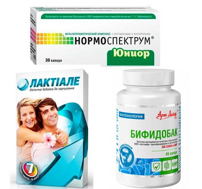 Симбиотики для лечения дисбактериоза
