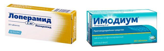 Препараты против диареи