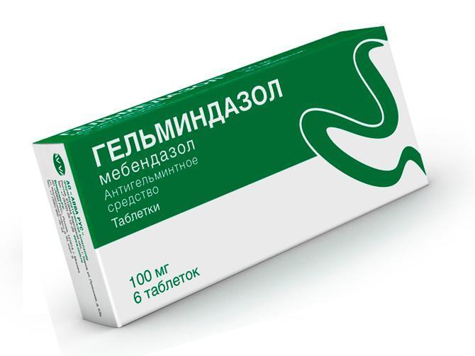 Противоглистный препарат Гельминдазол