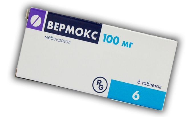 Противоглистный препарат Вермокс