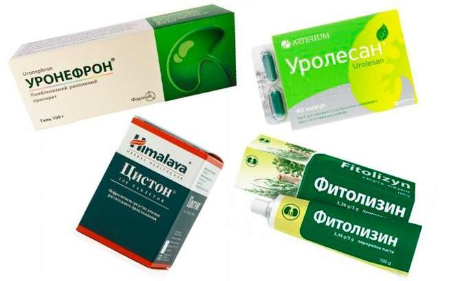 Таблетки на основе трав